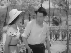 SURPRISING NUDITY DURING A 1958 FRENCH MOVIE