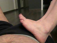 Blanca footjob sweet soles