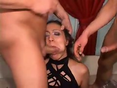 Extreme milf dp fist and dildo