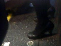 candid black tights