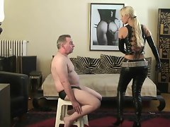 Slapped by Blonde Latex Beauty