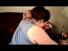 Holly Jayde and Mystique (Blooper Real - BBWFanFest 2012)