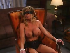 Busty chick bizzare sex while tied