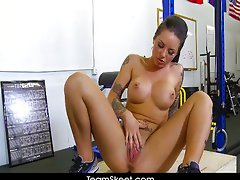 Tattooed big tits babe Christy Mack
