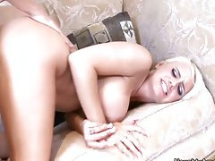 Hot busty blonde fucks before her wedding