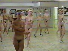 Nude Aerobic Dance Class