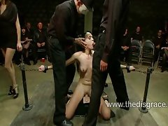 Bobbi fondled and fucked in bondage