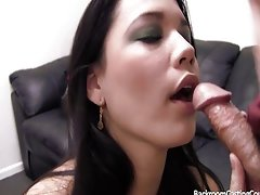 Creampie for dinner on casting couch