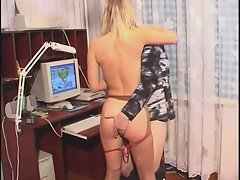 Russian Family-Daddy & Two Sexy Girls