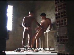 Hot brazilian gay dudes sucking cock and fucking hard