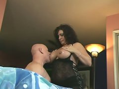 Big tits latina milf undresses to show her lovely hidden treasures