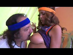 Ron jeremy makes the shot on isis!