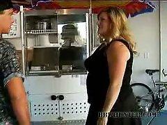Deedra is a hot blonde bbw who loves hotdogs