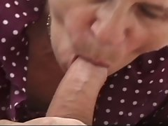 Grandma the slut gets drilled