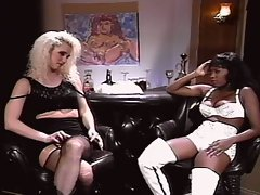 Black jack lesbian interracial friends