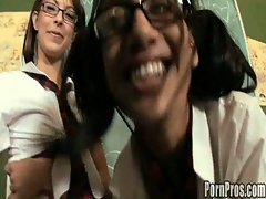 Schoogirl love detention fucking their teacher