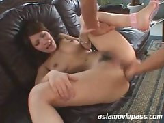 Pole dancer gets fisted and fucked