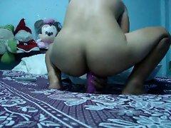 Thai Babe Banging her Pinky Toy