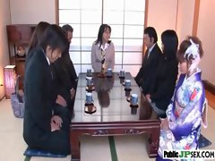 Hot Model Japanese Get Nailed In Public video-19