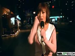 Hot Model Japanese Get Nailed In Public video-17