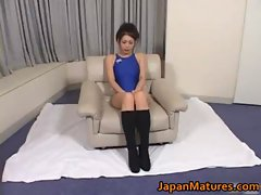 Maki Tomada Mature nipponjin lady enjoys