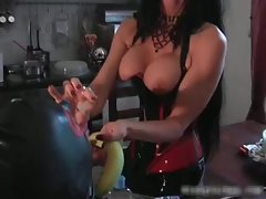 Bigtits Carmen in amazing sexy bdsm