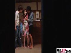 Milf Japanese Get Hardcore Fucked clip-18