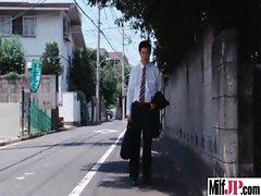 Milf Japanese Get Hardcore Fucked clip-17