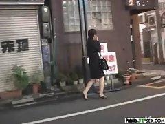 Outdoor Cute Japanese Girl Get Sex clip-22
