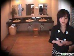 Outdoor Cute Japanese Girl Get Sex clip-27