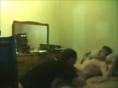 Fit guy sucking me off