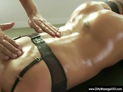 Dirty Masseur - Horny masseuses handobs and get fucked 18