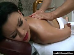 Dirty Masseur - Horny masseuses handobs and get fucked 17