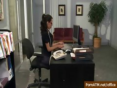 Sexy Busty Secretary Banged in Office - Big Tits at Work 36