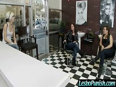 Teen Sexy Lesbians Get Punish With Toys clip-22
