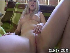 Fat rod enters her holes