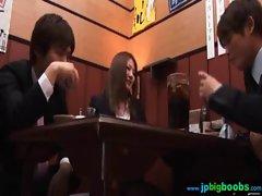 Sexy Big Tits Japanese Get Hot Sex movie-27