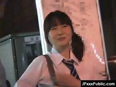 PublicSex in Japan - Asian Teens Exposed Outdoor 05