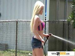 Teen Girl Get Filmed And Fucked Hard clip-36