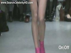 Nude catwalk - London Fashion