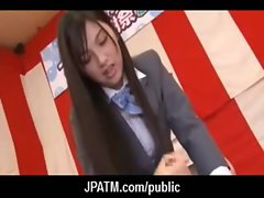 Public Sex in Japan - Asian Teens Exposed Outdoor 13