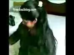 Indian sex Stunning south indian beauty strips and makes love -2