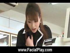 Bukkake Now - Sexy Japanese Babes Facial Cumshots 20