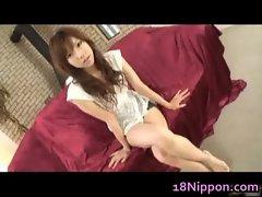 Busty Teen Serina Hayakawa enjoys Sex
