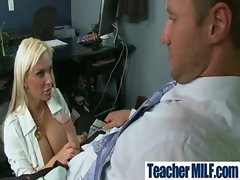 Sexy Busty Teachers And Students Fuck Hard movie-01