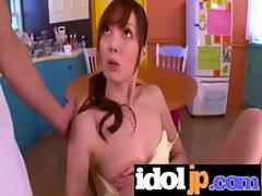 Cute Japanese Girl Get Fucked Hardcore clip-16