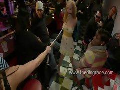 Audrey Hollander gets her holes abused