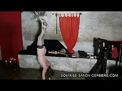video sm bondage fouet soumise sandy submissive sandy