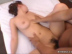 Sexy Yu Kazuko enjoys hard cock