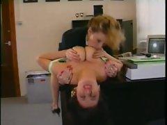 Big tits retro lesbians hook up
